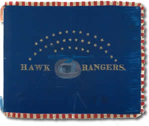 Hawkeye Rangers Civil War Battle Flag